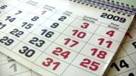 New Year's Calendar video