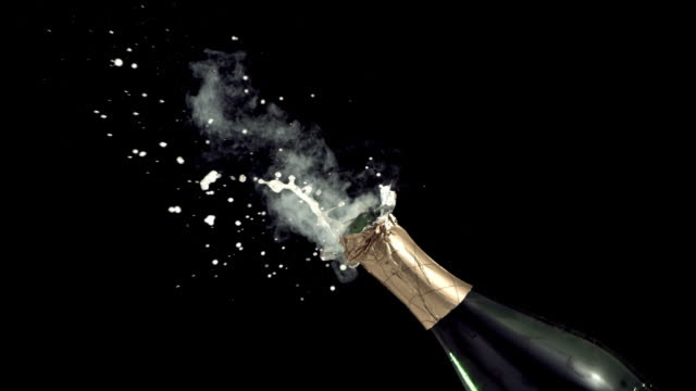 New Year's Champagne, Slow Motion video