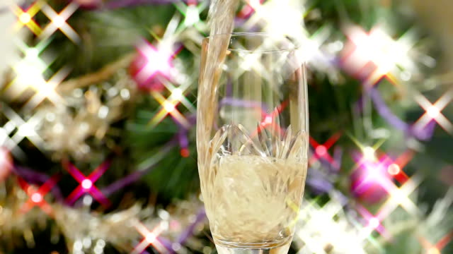New Year's champagne video