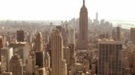 New York aerial view video