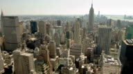 new york arial view video