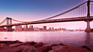 New York bridge video