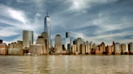 New York buildings and freedom tower video