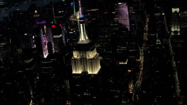 New York City aerial footage video