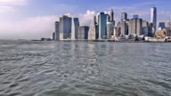 New York city and hudson river video