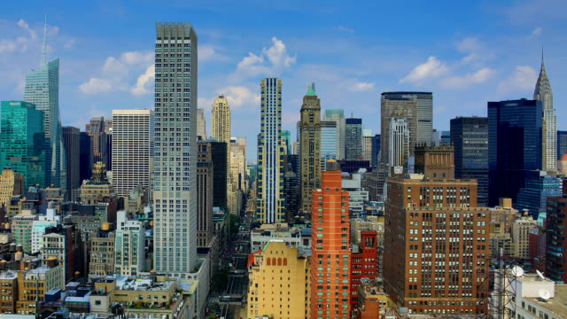 New York City: Day time lapse video