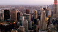 New York city empire state building video