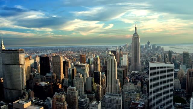 New York City Establishing Shot video