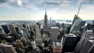 New York City Fisheye Time-lapse video