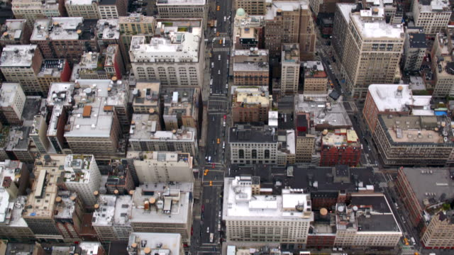 New York City from the air video