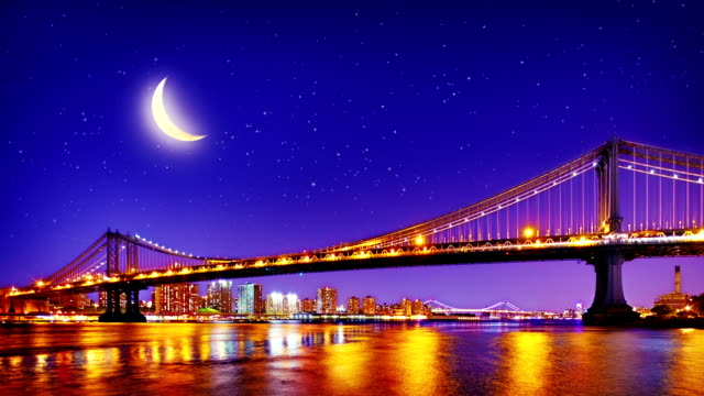 New York City Manhattan Bridge. video