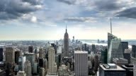 New York City Manhattan NYC Empire State Building Zoom Out video