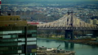 New York City Skyline: East River and upper Manhattan video