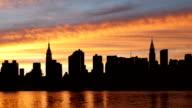 New York City Skyline Time Lapse video