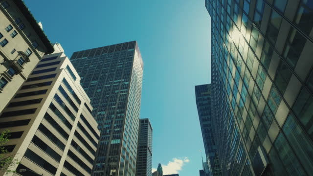 New York city skyscrapers video