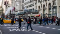 New York City Street Scene video