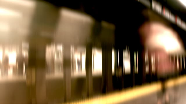 New York City Subway Platform video
