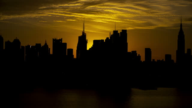 New York City Sunrise video