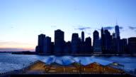 New York City Sunset video