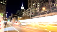 New York City time lapse video