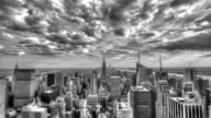 New York City Time-Lapse in Black and White video