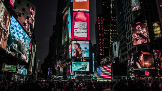 New York City, Times Square video