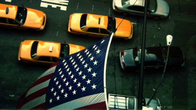 New York City yellow cabs video