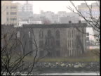 New York: Derelict Building on Roosevelt Island, from Manhattan video