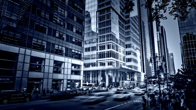 New York manhattan street video
