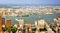 New York river. video