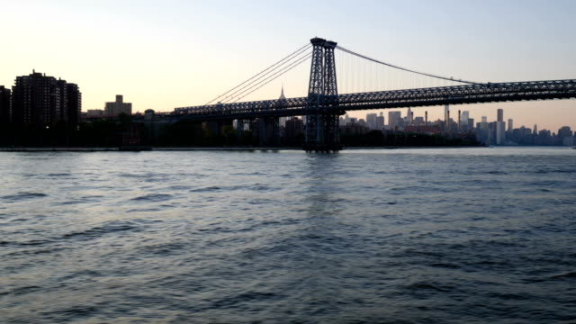 New York Skyline: East river view video