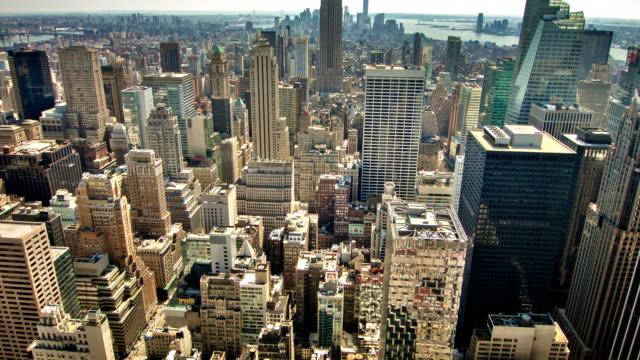 New York Skyline Panorama video