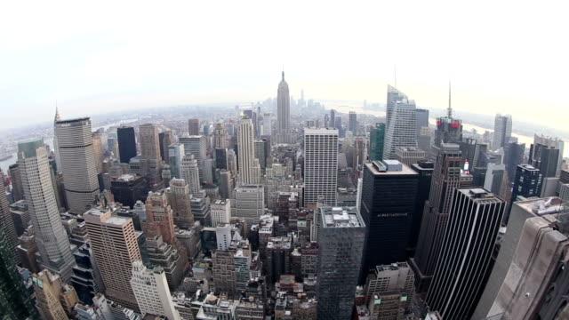 HD VDO : New York Skyline. video