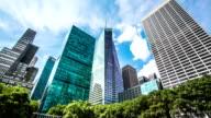 New York Skyscrapers timelapse video