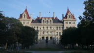 New York State Capitol building video