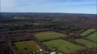 new York state landscape - Aerial View - New York,  Ulster County,  United States video