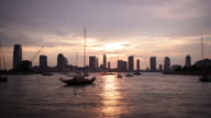 new york sunset jersey city panorama 4k time lapse usa video