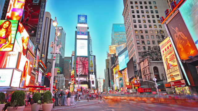 New York. Time square. Day video