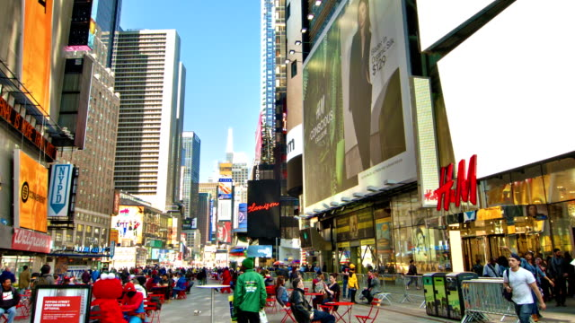 New York. Times Square video