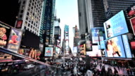 New York, Times Square video