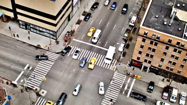 New York traffic video