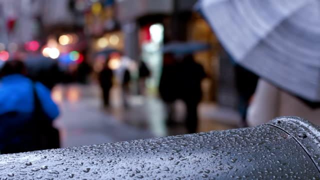 New York Umbrellas video