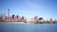 new york uptown day light 4k time lapse from usa video