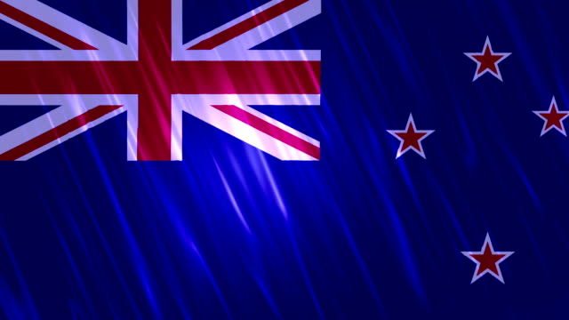 New Zealand Flag Loopable Animation video