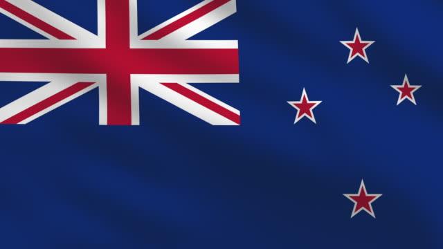 New Zealand flag video