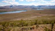 New Zealand Mountain Landscape Time Lapse video