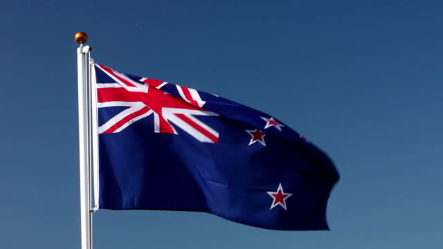 New Zealand national flag video