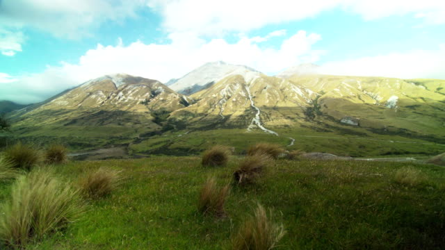 New Zealand South Island Mount Potts video