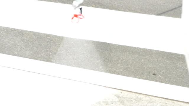 New zebra crossing video
