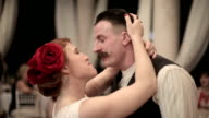 Newlyweds first dance at a wedding video